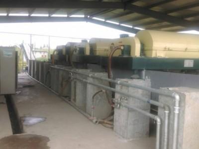 化工厂废水过滤专用脱渣机成套处理设备