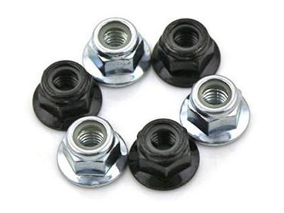 深圳尼龙法兰螺母 自锁GB6183 DIN6926碳钢法兰螺-- 深圳市法士威精密零件有限公司