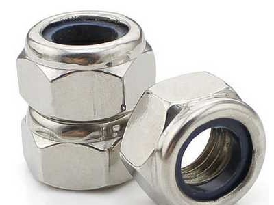 304不锈钢细牙防松螺母 反牙自锁螺帽 防滑螺母